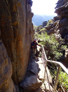 Through the Grand Canyon to the Pinnacles, Grampians National Park Vic