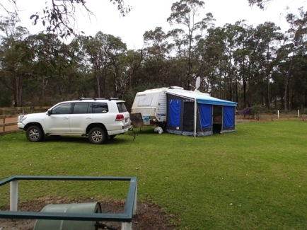 Our home while at Porongurup