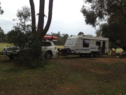 Campsite at Greenbushes