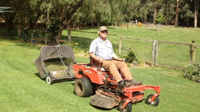 Walpole - on the mower